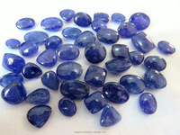 Natural Multi Shape Cabs Loose Gemstone Tanzanite