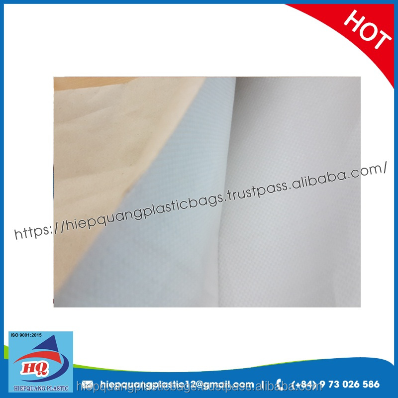 3 layers kraft paper laminated pp woven bag for feed, powder, frozen fish, chemical