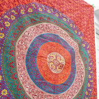 CJARY-9 Indian Twin Decor Mandala Tapestry Hippie Bedding Dorm Wall Hanging Bedspreads