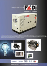 Generator set 250KVA with Perkins engine, FADI brand, high quality