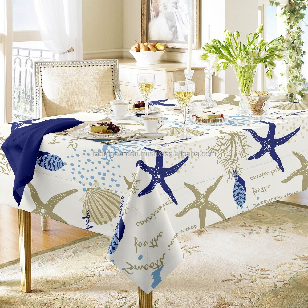 Pattern Printed table cloth