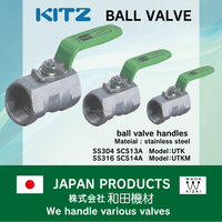 jacket ktm off-road KITZ Ball valve with High-security