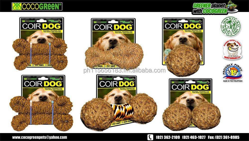 COIR DOG NATURAL DOG TOYS