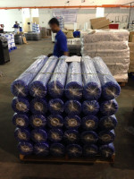 LDPE wide film/bag dark blue tint food / industrial grade