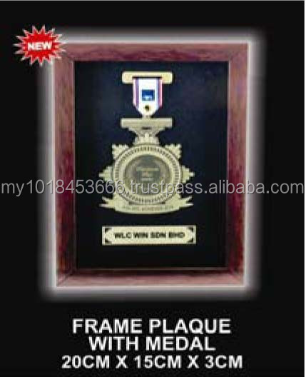 AWI1403 Frame Plaque with Medal