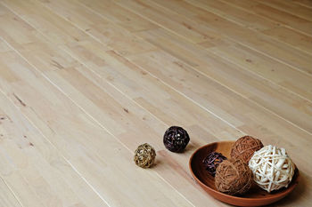 Solid wood flooring Whitewash colour