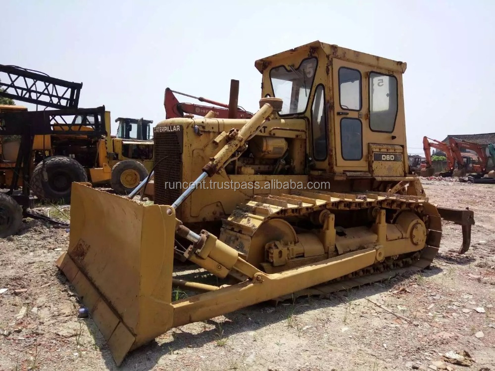 Used CAT D6D Dozer