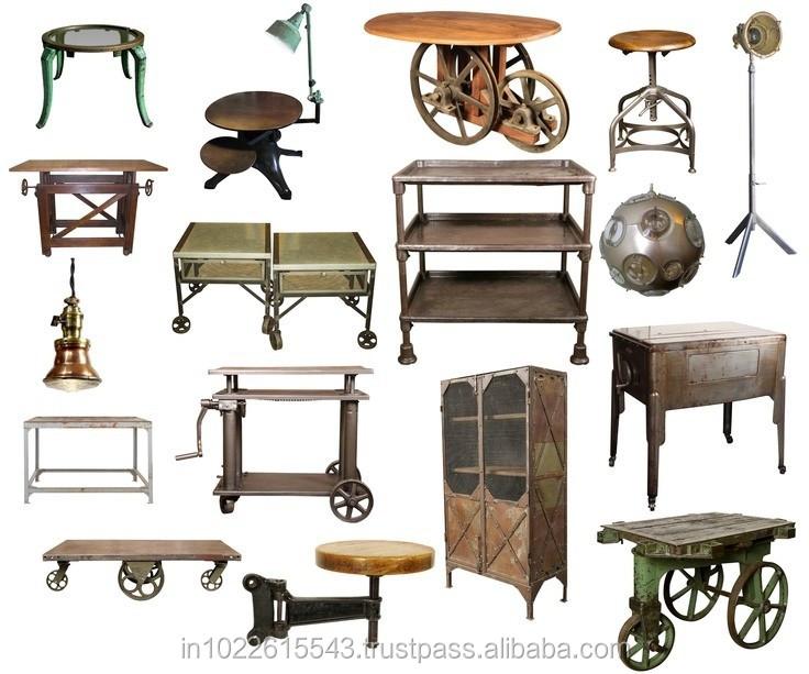 Industrial de m veis e exportador mobili rio industrial - Mobiliario industrial vintage ...