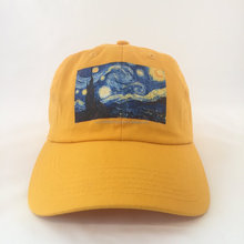 Starry Night Van Gogh Urban Streetwear Polo Style Hat Dad Cap