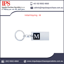 Good Quality Initial Metal Key Chain Ring from Reputed Supplier