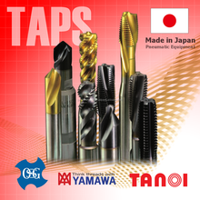 High-performance YAMAWA Tap for industry use, TANOI/OSG also available