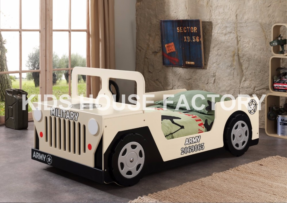 American Jeep Bed, E1/P2 MDF Car Bed, Children Bed