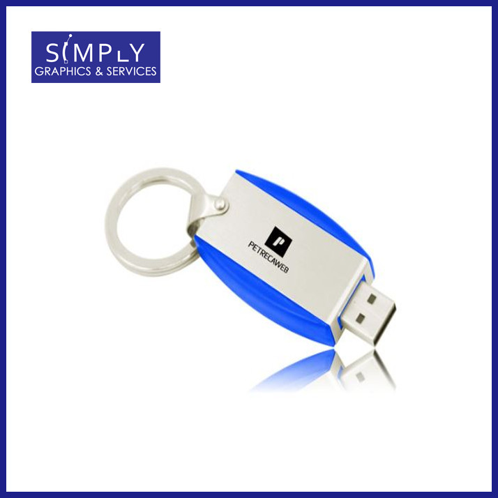 Deluxe Key ring Flash Drive
