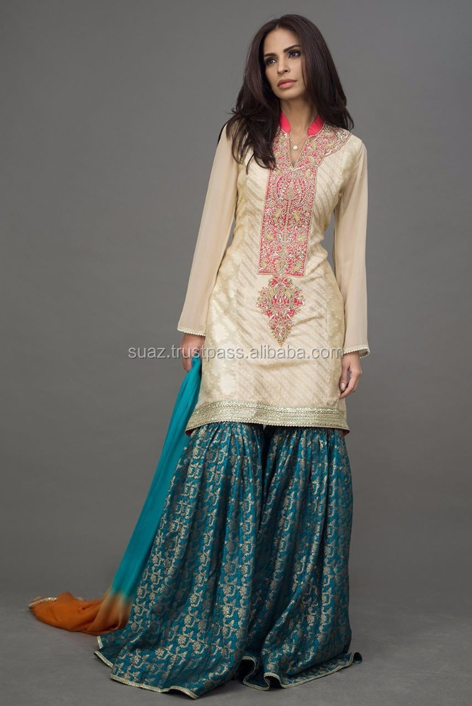 Pakistani Ghagra , Pakistan ladies sharara , Pakistan Women Gharara , Traditional Pakistani Luxury suits , Girls frocks