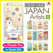 Made in Japan original clear cases for i phone6 mobile phone
