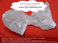 High purity quartz with low impurity contents across Egypt