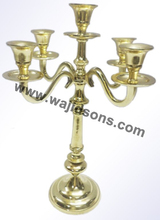 Aluminum Candelabra for Wedding and Party L-44'' Parties, Event Decor & Floral