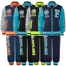 NEW custom kids track suit varsity style warm up suits sport jogging suits