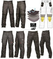 Motorbike Trousers, with removable inner lining and adjustable waist