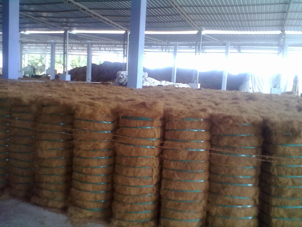 High quality coconut fiber coir fiber (From India)