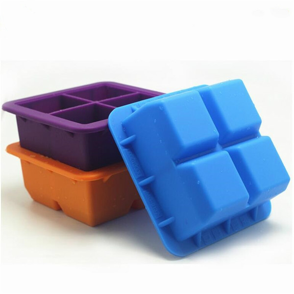 Eco- friendy high quality food grade silicone ice cube tray