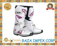 Stylish and popular man Motocross racing shoes / high quality motorcycle cool shoes for dirt bike