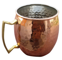 Moscow Mule Copper Mug Stainless Steel Lining capacity -14 Oz