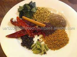 mixed spices curry powder