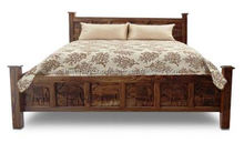 Latest Design Carved Wooden Queen Size Bed