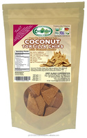 100grams COCONUT TORTILLA CHIPS with coconut nectar 100% Natural