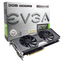 New 780 Superclocked ACX Cooler 3GB GDDR5 Graphic Card