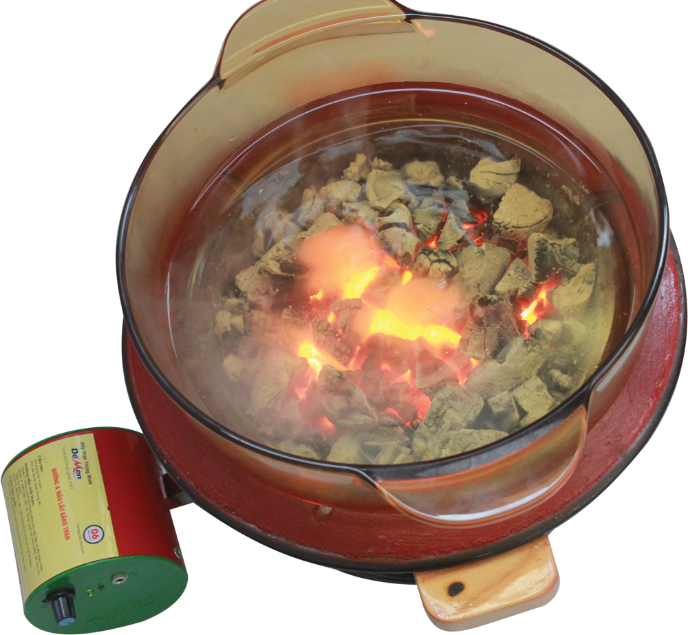 Camping Cooker Charcoal Cooking Stove / Ceramic, clay Outdoor Grills