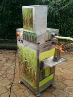 Sugar Cane Juice Machine (Made In India) Automatic Stainless Electric Commercial Large Capacity Sugarcane Juicer/Sugarcane