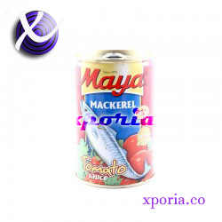 MAYA Canned Fish MACKEREL TOMATO SAUCE 425gr | Indonesia Origin | Popular cheap halal certified meat