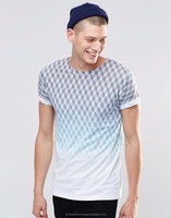 two tone dotted fashion t shirt - New Hot Menes Fashion Style Classic Full Sleeves T-shirt 2014