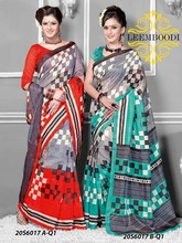 pochampally cotton saree/crystal stone work saree border stone work sarees/exclusive bridal saree/LM