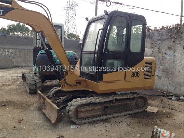 Hot sale used caterpillar/cat excavators/digger 306 high quality low price machine