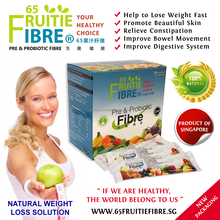 Natural Weight Loss Tips - 65FruitieFibre Probiotics - 10 + 1 Box FREE Combo Package - Natural Weight Loss Solutions - Wholesale