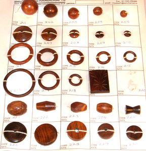 Natural Shisham Wood Beads Round and more shape