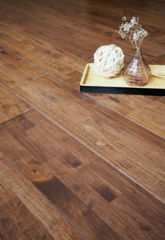 Solid Wood Flooring Walnut Colour