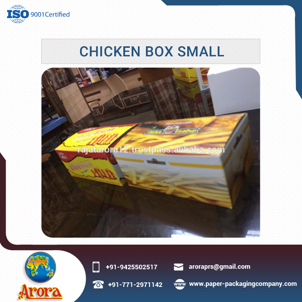 Highly Demanding Different Size Chicken Boxes for Take Away Packing