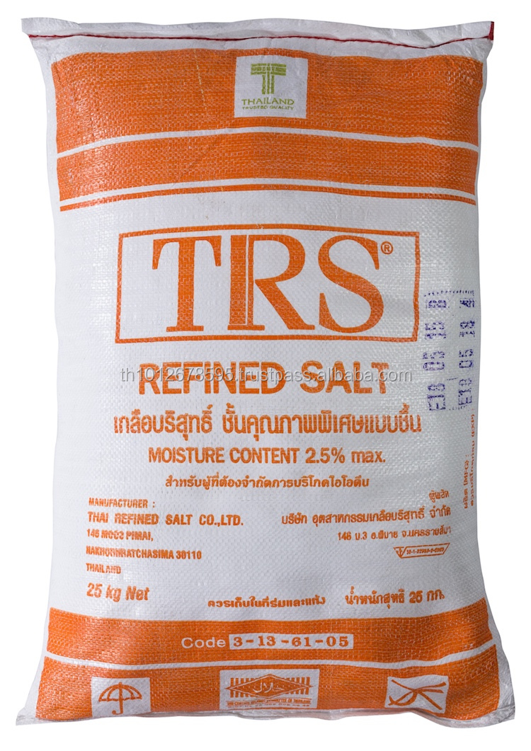 Refine sea salt ( Sodium chloride ) food grade for purified water system in industrIal chemical with ISO AND HALAL CERTIFICAT