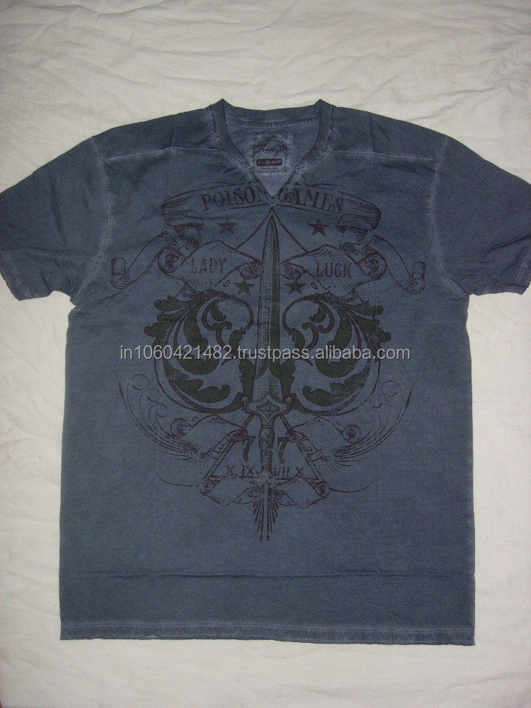 V Neck T Shirts with your Custom Prints,embroidery