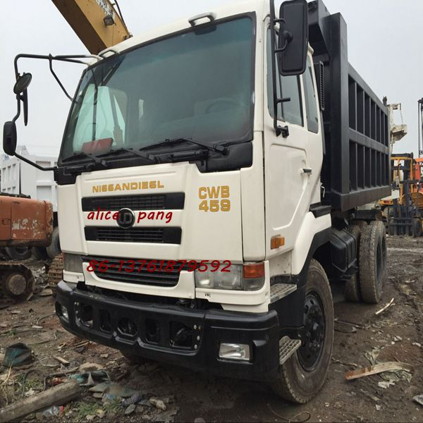 Good quality Japan Brand UD NISSAN CWB459 DUMP TRUCK