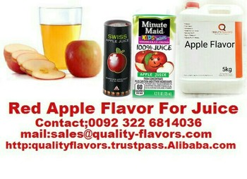 Red Apple Flavor For Juice