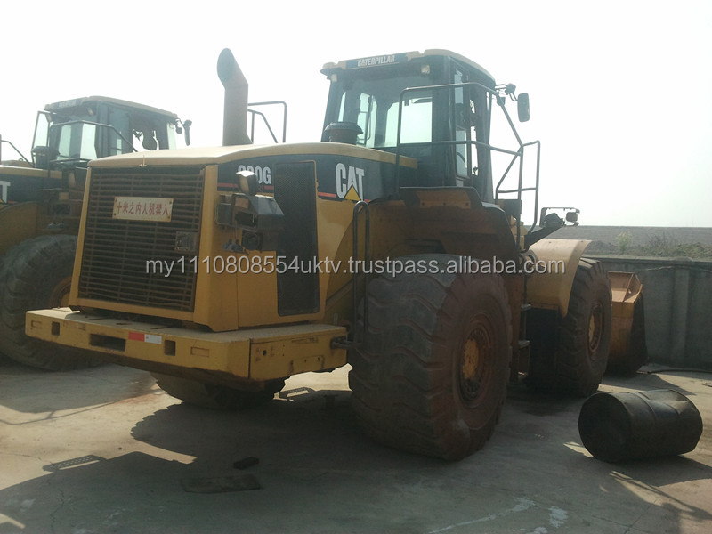 CAT 980G Wheel Loader usedgood engine and high quality, also used CAT 966E, 966F, 950F for sale