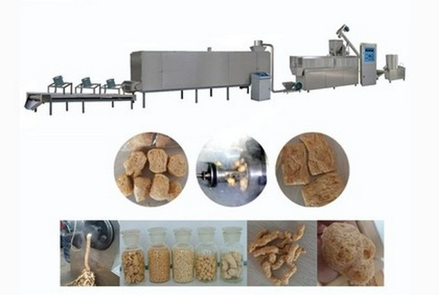 soya bean chunk machinery