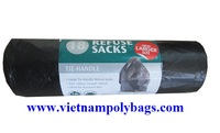 vietnam 2016 packaging black Poly bag on roll, micro-perforated plastic bag for vegetable