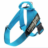 Nylon Service Dog Harness with Handle For Training & Working Dogs