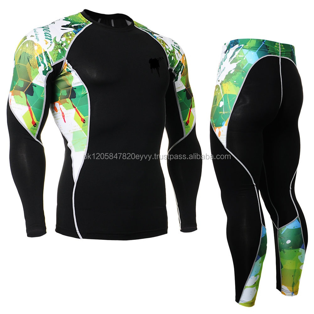 factory bike pattern printing wholesale compression shirt